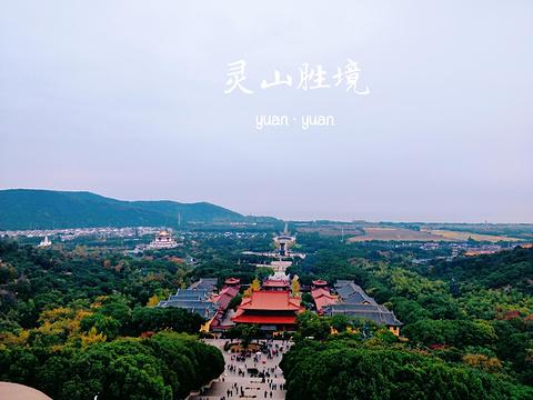 灵山胜境旅游景点攻略图