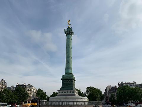 巴士底广场旅游景点图片