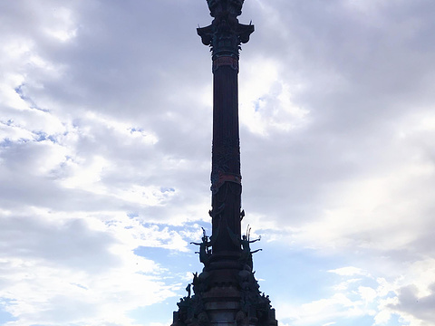 哥伦布纪念碑旅游景点图片