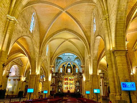 瓦伦西亚主教堂和塔楼旅游景点图片