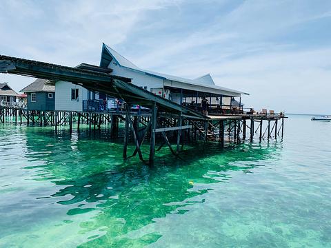 仙本那马布岛白水哈亚特丹冒险小屋(Arung Hayat Mabul Island Semporna)旅游景点攻略图