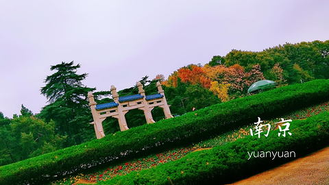 中山陵景区旅游景点攻略图