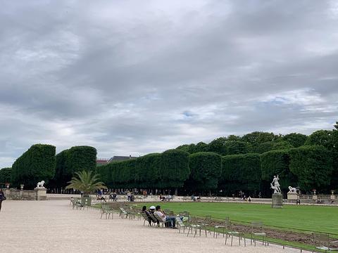 卢森堡公园旅游景点图片