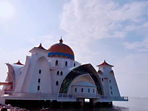 马六甲海峡清真寺旅游景点攻略图